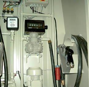 Zapfanlage <small>(eichfähig / nicht eichfähig)</small>, Transferpumpe, Generator