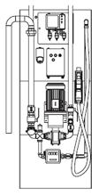 Zapfsäule 100 Liter/min nicht eichfähig Diesel Pflanzenöl