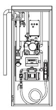 Zapfsäule 40 Liter/min eichfähig Pflanzenöl