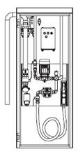 Zapfsäule 40 Liter/min nicht eichfähig Diesel Pflanzenöl