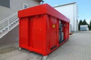 portable gas station container Caracas - Car 20 ft 04
