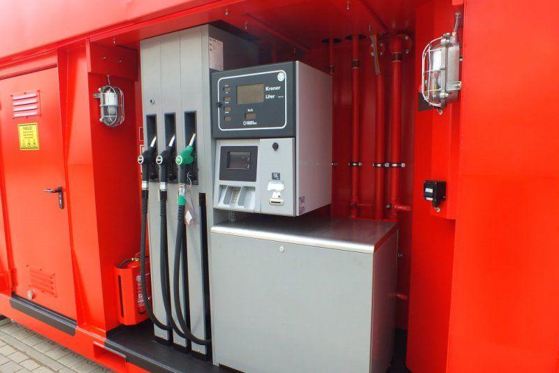 Portable Gas Containeres : Krampitz minotaur portable gas station container