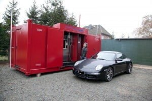 portable gas station container Caracas - Car 20 ft 08