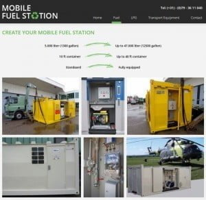 mobile fuel station