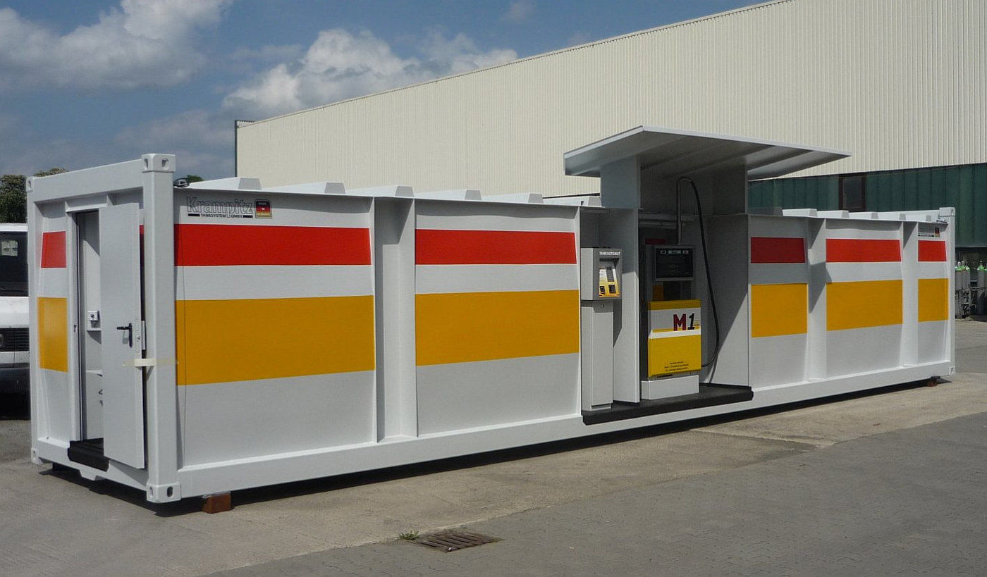 Tank container and Storage tanks with international approvals