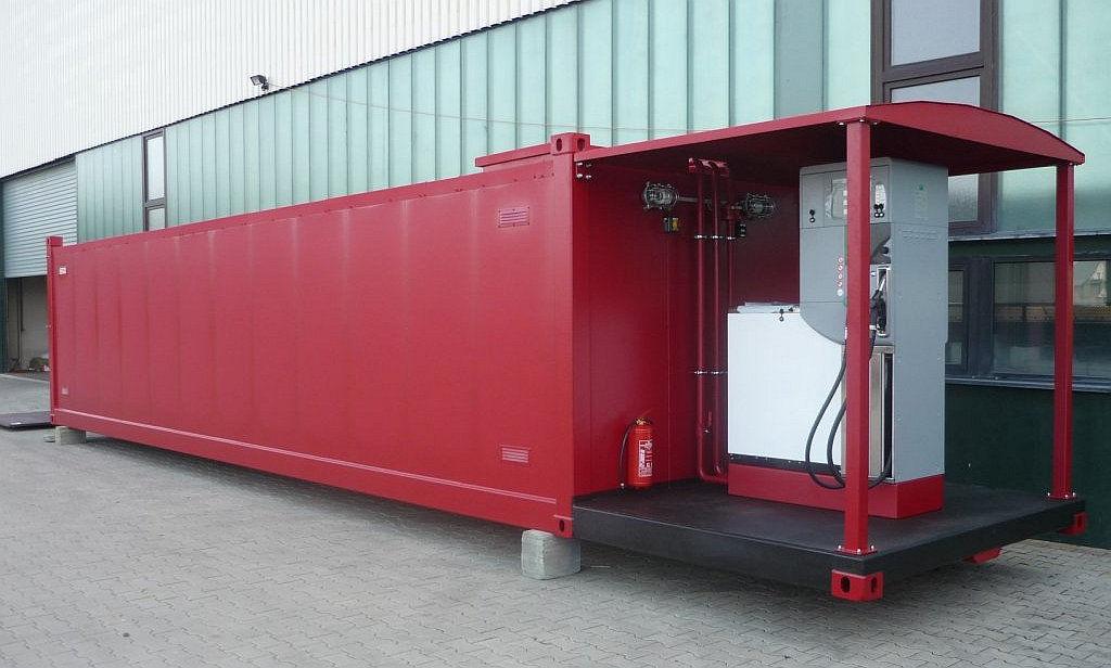 Tankstellencontainer