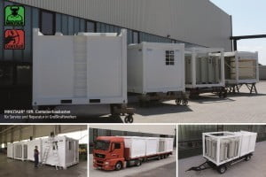 IBC Lagertank Transport-Flats