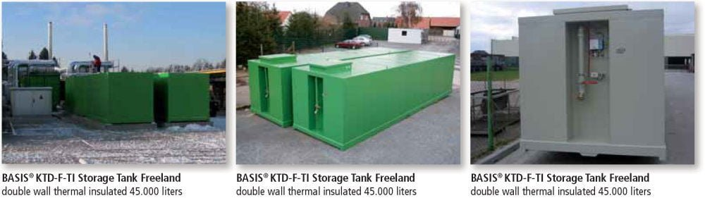 KTD-F-TI Storage Tank Double Wall Applications