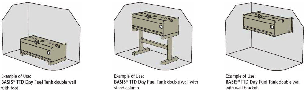 TTD Day Fuel Tank Double Wall - Equipment