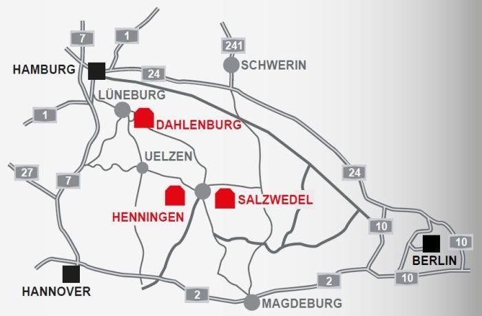 Krampitz Tanksystem GmbH Map