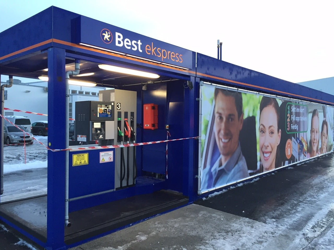 Krampitz gas station container in Tromso city (3)
