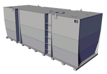 KTE Storage Tank Single Wall