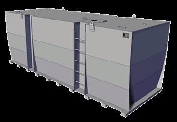 KTE Storage Tank Single Wall