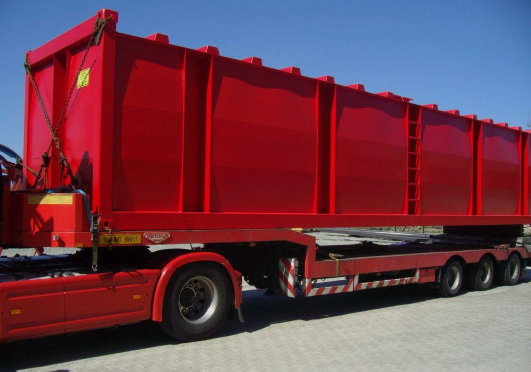 Fuel equipment container transport