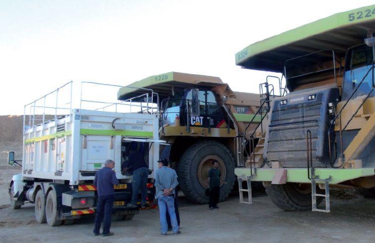 Lube skids & Fuel Skids: mobiles Servicemodul für Bergbaumaschinen