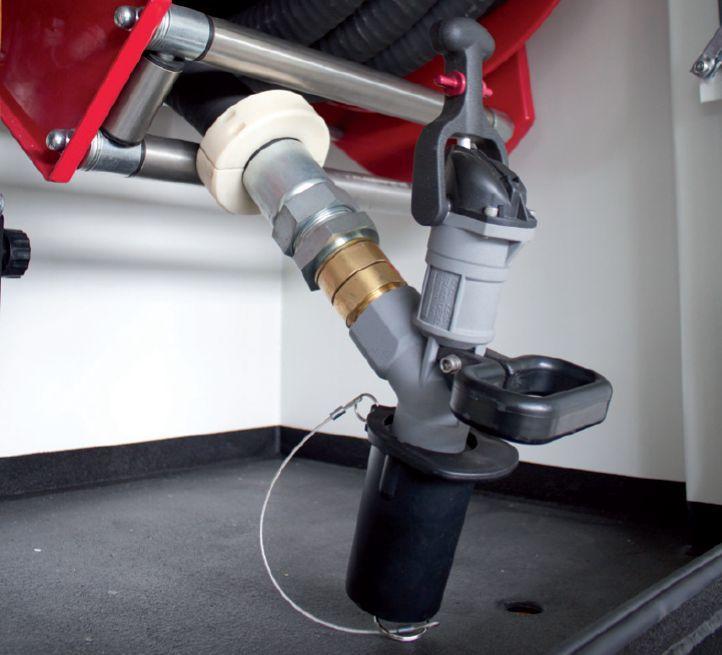 Lube fuel skids: Trockenkupplung Typ Wiggins