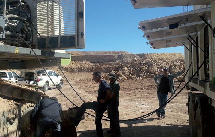 Lube skids & Fuel Skids: Reparieren und schweißen direkt an den Maschinen