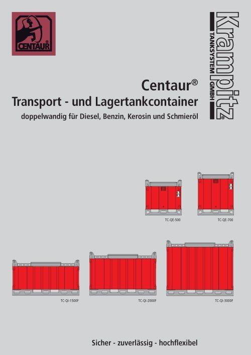Transportflats für CENTAUR Transporttanks