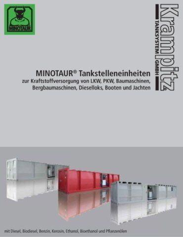 MINOTAUR® Tankstelleneinheiten zur Kraftstoffversorgung