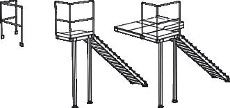 Treppe / Podest / Geländer