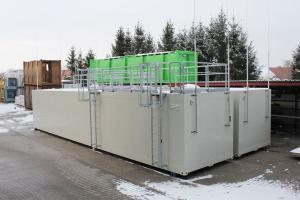 Thermo-Insulated storage tanks