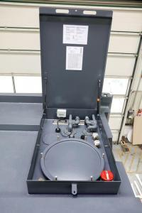 High security tank system with fuel cleaning system