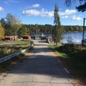 Bootstankstelle in Schweden