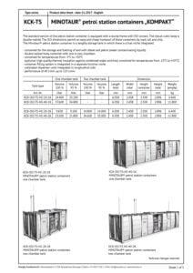 Minotaur-Kompakt-Tankstellen