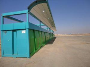 Krampitz petrol station with office in Saudi-Arabia