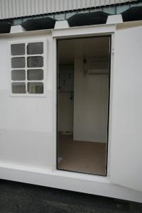 tank container with office