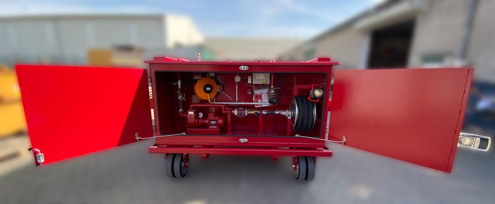 Bergbau Tankcontainer mit Hakensystem