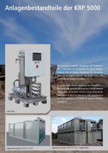 Kraftstoffreinigungsanlage KRP-5000