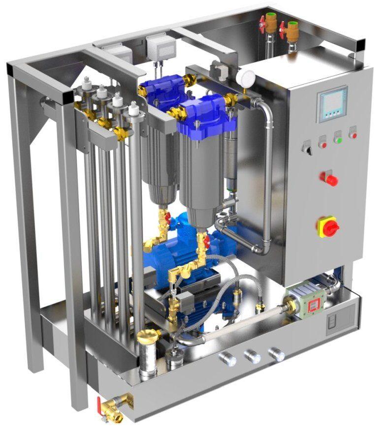 Kraftstoff Reinigungssystem für Diesel, Kerosin, Benzin - KRP 5000