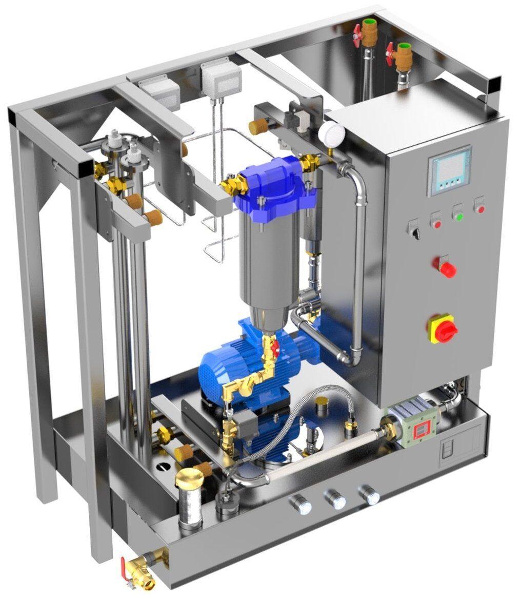 Kraftstoff Reinigungsanlage für Diesel, Kerosin, Benzin - KRP 2500