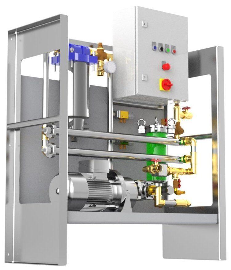 Kraftstoff Reinigungsanlage für Diesel, Kerosin, Benzin - KRP 2500-easy