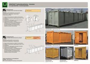 Krampitz Baureihen Tankstellencontainer