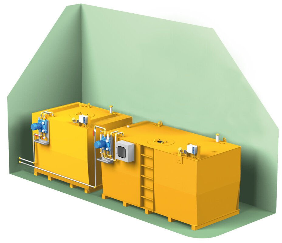 Ölversorgungsanlage Komplettsystem Maximal