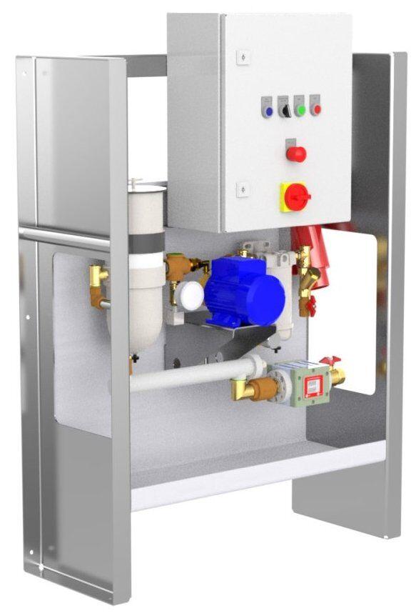 Reinigungsanlage für Diesel, Benzin, Kerosin - KRP 600-easy