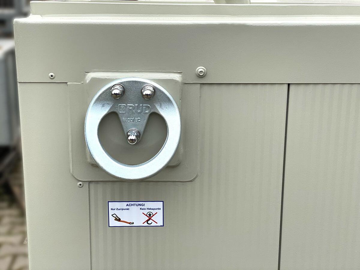 flacher Tankcontainer mit Thermoisolierung zum Aufbau von Maschinencontainern (4)