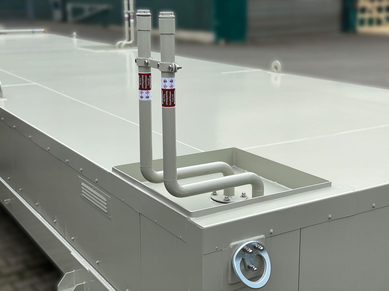 flacher Tankcontainer mit Thermoisolierung zum Aufbau von Maschinencontainern (6)