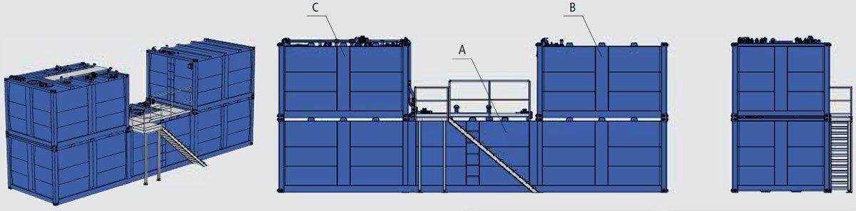 OPTIMAL - Ölversorgung Komplettsystem