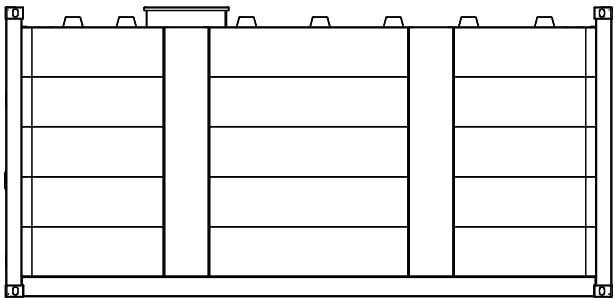 Krampitz Lagertankcontainer 20ft