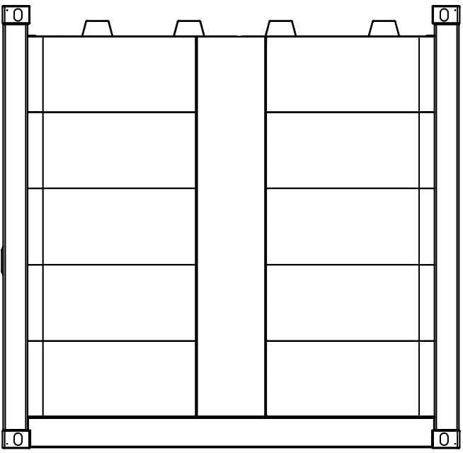 Krampitz - geschlossenes Containergehäuse 10ft