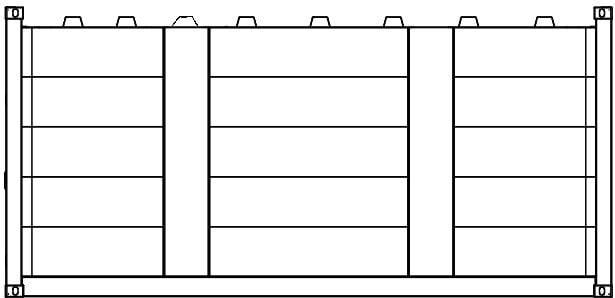 Krampitz - geschlossenes Containergehäuse 20ft
